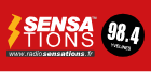 Logo de radio sensations